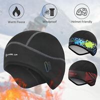 Windproof Beanie Fleece Hat Winter Warm Slouchy Ski Cycling Skull Cap Men Woman