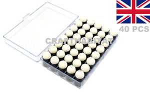 40x Finger Sponge Daubers with Storage Case FREE P&P UK
