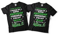 Cerebral Palsy Mom Dad Couple Matching Shirts CP Awareness Mother Father Tee