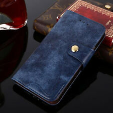 Rivet Flip Style Leather Wallet Phone Bags Stand Cases Cover For BlackBerry Key2