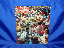 Indy 500 Vintage Racing Pictorial Summer 1979 Mint Rick Mears Hand Signed Cover