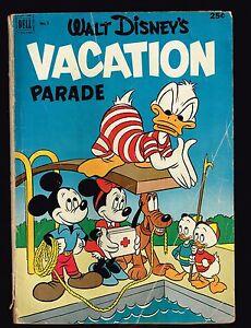 Walt Disney's Vacation Parade ~ Donald / Mickey ~ 1953 (2.5) WH