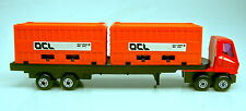 "Matchbox Superfast PS-1 Trailer orange Container ""OCL"" aus Container Playset"