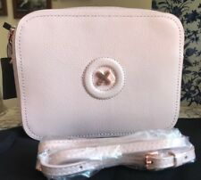 Mimco Daydream Polished Soft Leather Petticoat Pink Crossbody Hip Bag Authentic