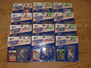 Kenner Starting Lineup MLB Action Figures 1988 1989 CHOICE Original Packaging