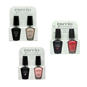 Cuccio Matchmakers - Gel & Polish - CHOOSE FROM ANY - Colors A-Z - 13mL / 0.43oz