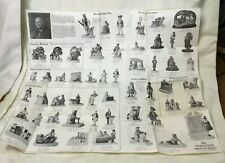 * Ca 1980's Sebastian Miniatures Sales Collector Pamphlet