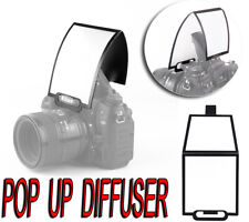 DIFFUSER FLASH POP UP SOFTBOX BOUNCE REFLECTOR CANON EOS 60D 600D 1100D 550D M50