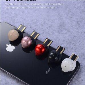 In Ear Kopfhrer Bluetooth Kopfhörer Mini Kabellos Stereo Headset Ohrhörer + Mic