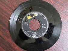 45 RPM VG+ - Elvis Presley London 7506 I need your love tonight/A Fool Such as I