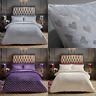 HEART TEDDY FLEECE SHERPA FLEECE DUVET COVER  PILLOWCASES BEDDING SET BED LINEN