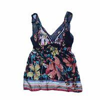 Hale Bob Women's Sleeveless Top M Colour:  Multi