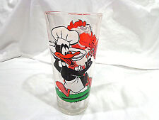 vintage 1976 Daffy & Taz glass