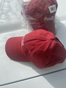 Coca-Cola Red Hat New Baseball Cap Adjustable With Tags