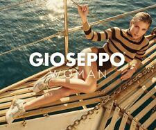 Gioseppo - Sneakers blancas con detalle de cebra y cuña interior para mujer MEER