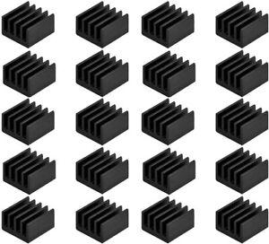 Small Mini Heatsink Kit Thermal Conductive Adhesive Tape Aluminum Cool PC Drive
