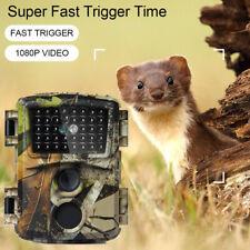 Wildkamera 12MP Überwachungskamera Jagdkamera Fotofalle PIR Nachtsicht FHD 1080P