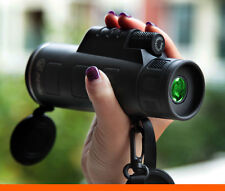 PANDA 40X60 Focus Zoom Portable Travelling HD OPTICS BK4 Monocular Telescope UK