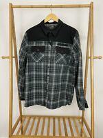 5.11 Tactical Men's Snap Flannel Long Sleeve Shirt Size M EUC