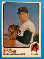 1973 Topps Steve Stone Card #167 San Francisco Giants