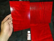 Red Dye | Red Wood Stain | Red Wood Dye | Makes 55 oz Solvent Dye Red Stain