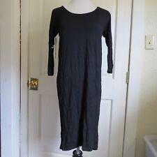 NWT - Aritzia Babaton Jersey Knit Winston Black Midi Dress- XXS