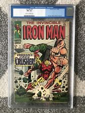 Iron Man #6 CGC 6.5 C/OW PGS MARVEL COMICS 1968 Silver Age Book The Crusher MCU
