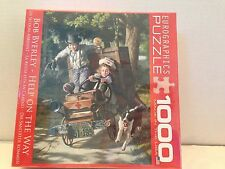 Eurographics Help On The Way 1000 Piece Puzzle Jigsaw Jigsaws