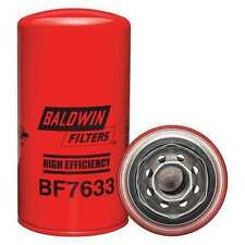 BALDWIN FILTERS BF7633 Fuel Filter, 7-1/8 x 3-11/16 x 7-1/8 In