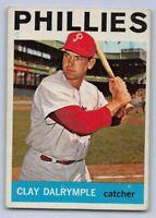 1964  CLAY DALRYMPLE - Topps Baseball Card # 191 - PHILADELPHIA PHILLIES