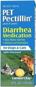 Pet Pectillin Diarrhea Medication for Dogs and Cats 4 oz.