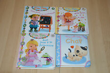 lot 3 livres P'tite Fille + mon petit bébé / collection FLEURUS  ptite