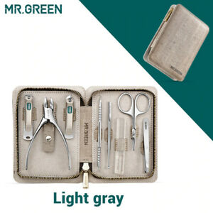MR.GREEN Manicure Set Pedicure Sets Nail Clipper Stainless Steel Nail Cutter Kit