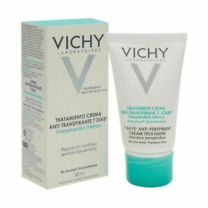 Vichy 7 Days Anti-Perspirant Treatment Deodorant cream 30ml 2 Pack 60ml