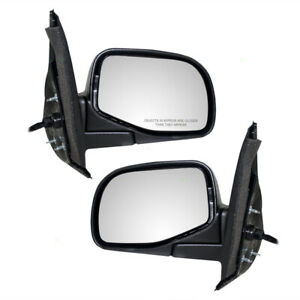 Pair Set Power Side View Mirrors for Mercury Mountaineer Ford Explorer & Sport