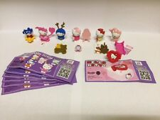 KINDER Surprise Hello Kitty Edizione limitata set completo di 6 + RARO ANELLO Cina 2016