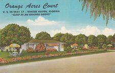 LAM (R) Winter Haven, FL - Orange Acres Court - Sleep in an Orange Grove.