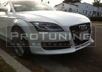 For Audi TT 06-14 Front Bumper spoiler lip Valance splitter Chin appron diffuser