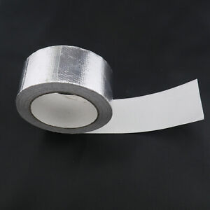 Aluminum Reinforced Heat Shield Resistant Wrap Exhaust Pipe Insulation Tape
