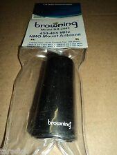 Browning Br-2445 Low Profile 450 -465 Mhz Nmo Mount Antenna Cdm1250 Cdm750 Cm200