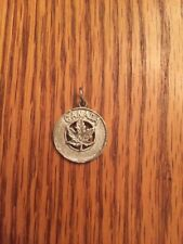 Canadian Maple Leaf Charm/Pendant - Sterling Silver Canada Pendant