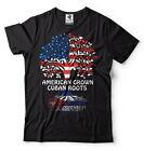 American Cuban T-shirt USA Cuba Heritage nationality Country Tee Shirt