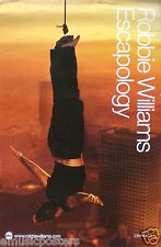 "ROBBIE WILLIAMS ""ESCAPOLOGY"" THAILAND PROMO POSTER -Take That! Robbie Hanging!"