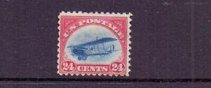 USA 1918 24c JENNY AIR MH  - CORNER CREASE - CAT £100