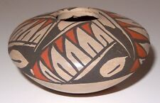 Native American Hopi Pottery Vase Small Pot Unsigned  Early Piece