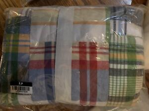 Pottery Barn Kids  MADRAS Quilted /Euro Sham  new