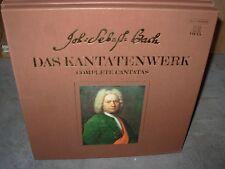 BACH complete cantatas 43 ~ 46 vol 12 ( classical ) 2lp box telefunken