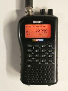 Uniden BC72XLT Analog NASCAR/Police/Fire Scanner W/Belt Clip, Nascar Used