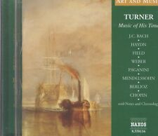Turner: Music of His Time CD