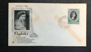 Pitcairn Islands 1953 Coronation FDC First Day cover